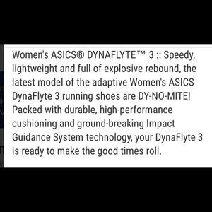Asics Shoes - Asics DynaFlyte 3